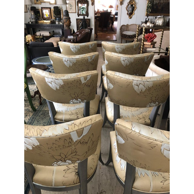 Custom Klismos Dining Chairs - Set of 8 For Sale - Image 4 of 12
