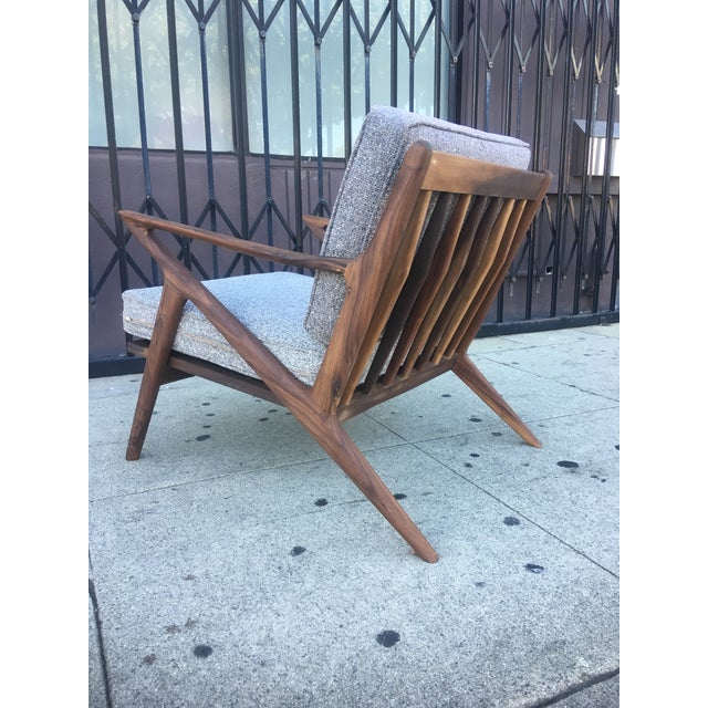 Mid-Century Modern Z Chair For Sale - Image 4 of 6