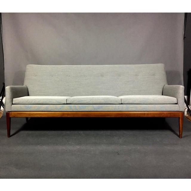Jen Risom 1950s American Modern 3-Seat Sofa For Sale - Image 10 of 10