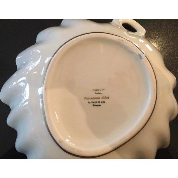 """Limoges France Leaf Bowl """"Pocelaine D'Art"""" - Image 3 of 3"""