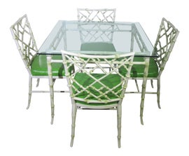 Image of Bamboo Patio and Garden Furniture