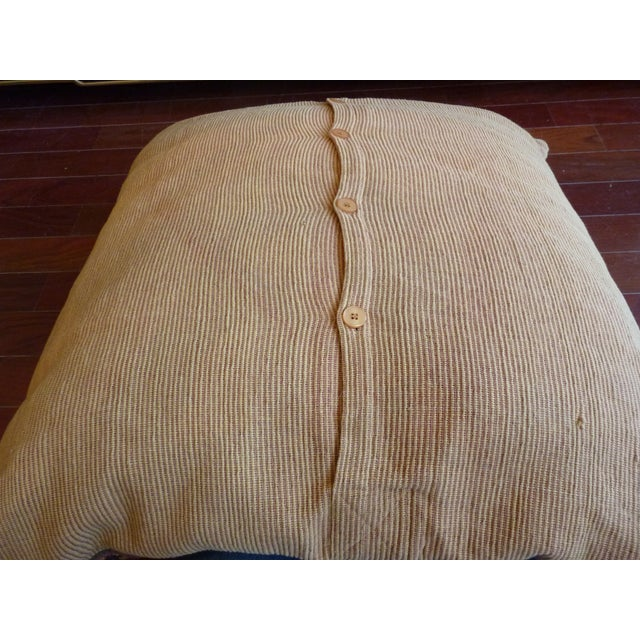 Flat Weave Tapestry Floor Pillow - Image 5 of 5