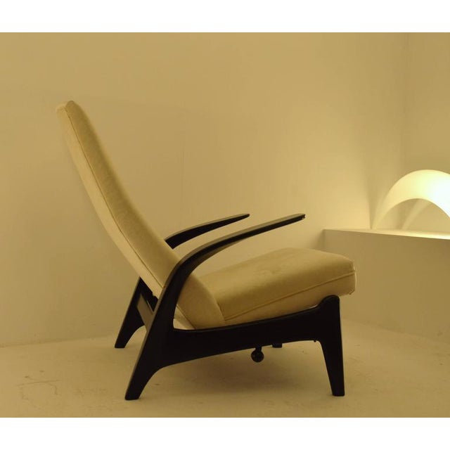 Very comfortable lounge chair, designed in Norway but produced in the U.K by Gimson and Slater in the 1960s. This chair is...