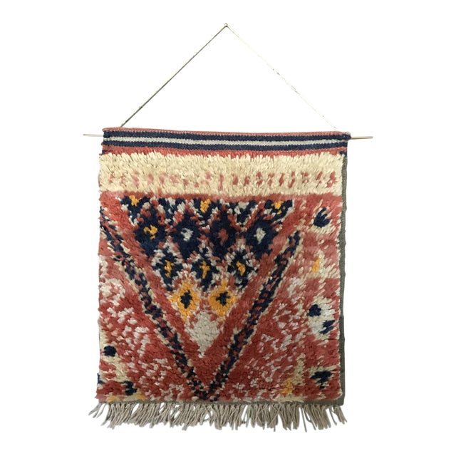 Hand Knotted Wall Weaving - Image 1 of 3