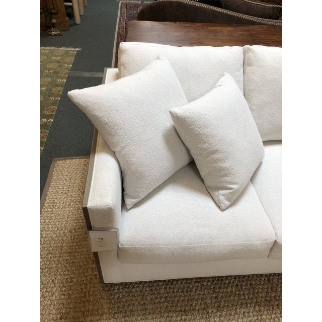 Rene Cazares Furniture Woody Upholstered Sofa For Sale - Image 10 of 13