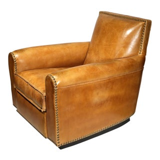 1940s Vintage Ralph Lauren Distressed Colorado Club Chair For Sale