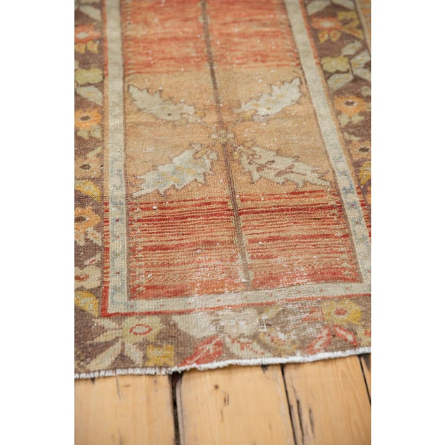 """Orange Vintage Distressed Oushak Rug - 2'3"""" x 3'5"""" For Sale - Image 8 of 10"""