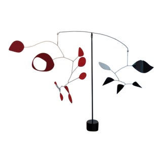 1990s Abstract Calder Inspired Mobile by David McAfferty