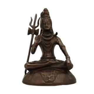 Solid Brass Shiva Statue For Sale