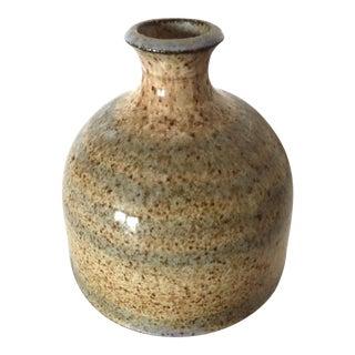 Mid-20th Century Vintage Ceramic Diminutive Vase by Kenneth Dierk For Sale