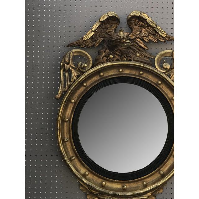 Gilded Bullseye Mirror For Sale - Image 4 of 6