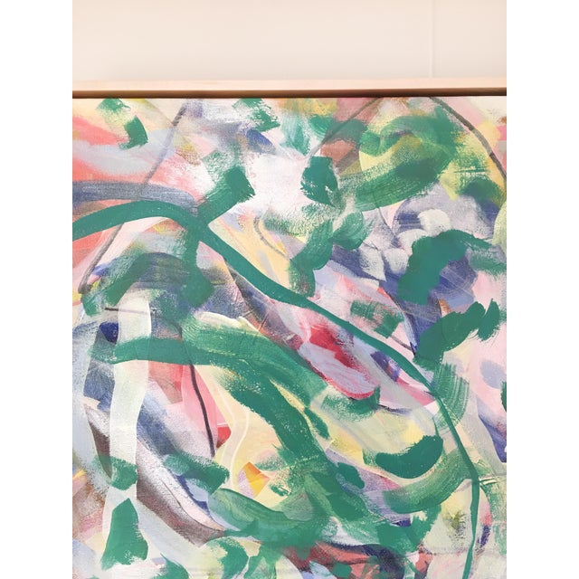 2010s Garden of Weeds Original Painting For Sale - Image 5 of 6