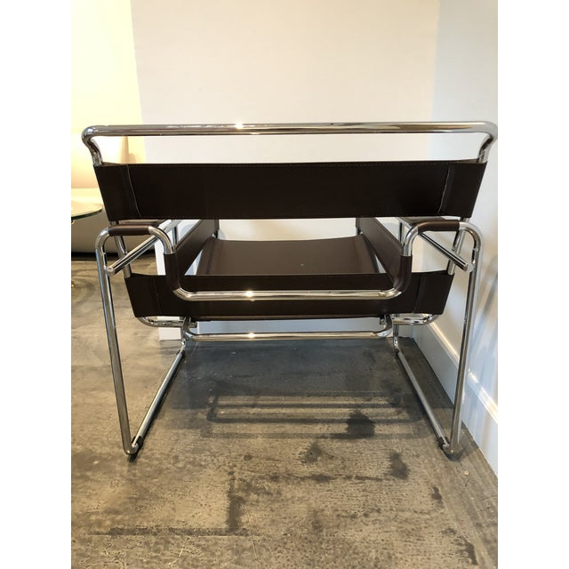 """Modern """"Wassily"""" Style Chair For Sale In Houston - Image 6 of 7"""