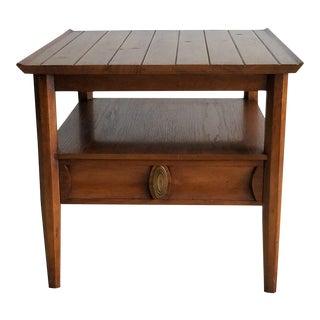 Vintage Heritage Ridged Side Table