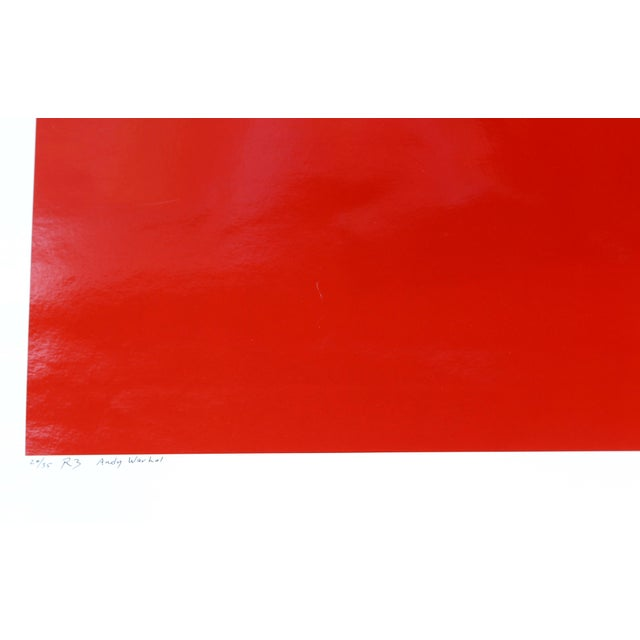 Artist: Curtis Knapp, American Title: Andy Warhol Red Series III Year: 1983 (printed 2004) Medium: Color Photograph,...