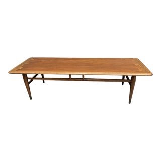 MCM Lane Acclaim Coffee Table With Ash Dovetail Detail For Sale