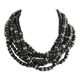 Jay Feinberg Runway Statement Torsade Necklace For Sale