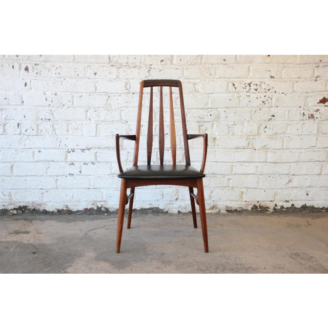 Niels Koefoed for Koefoeds Hornslet Eva Rosewood Dining Chairs- Set of 6 - Image 6 of 11