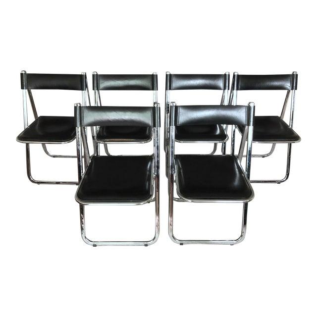 "Arrben ""Tamara"" Folding Chairs - Set of 6 For Sale"