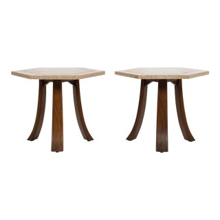 Harvey Probber Terrazzo Top End Tables For Sale