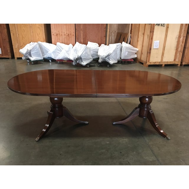 Carved Feet Oval Dining Table - Image 2 of 6
