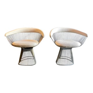 1990s Vintage Warren Platner Chairs- A Pair For Sale