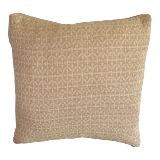 Rose Tarlow Linen Pillow Cover For Sale