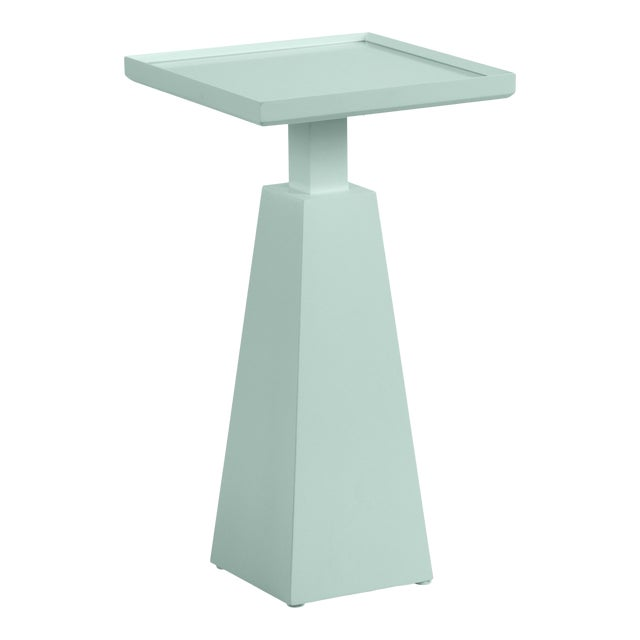 Casa Cosima Hayes Spot Table, Palladian Blue For Sale