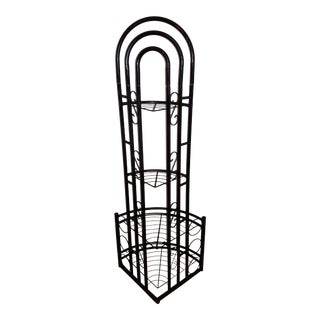 1980s Metal Plant Stand For Sale