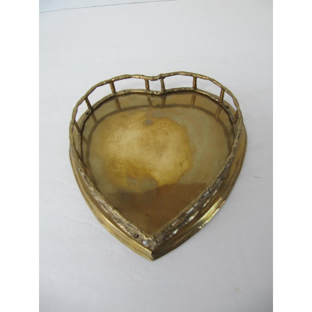 Heart Shaped Tray For Sale - Image 4 of 4