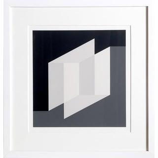 Josef Albers - Portfolio 2, Folder 26, Image 1 Framed Silkscreen For Sale