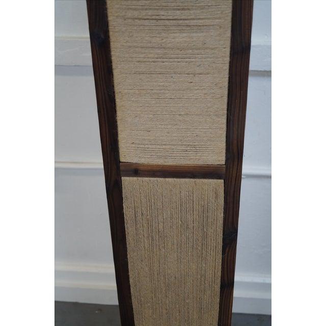 Asian Arts & Crafts Kojima Style Floor Lamp - Pair - Image 9 of 10