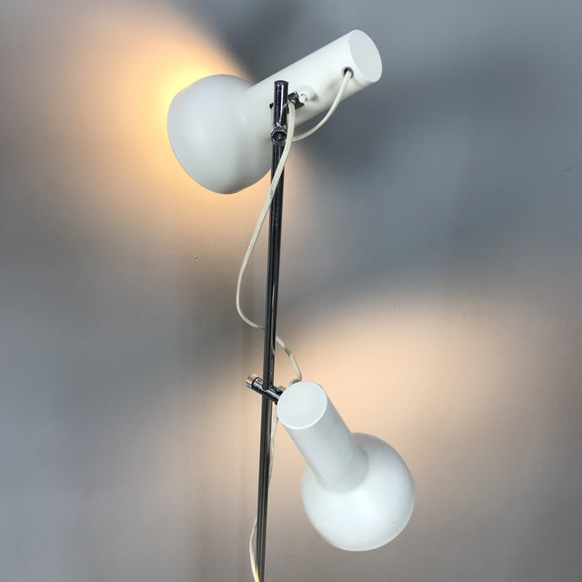 Danish Adjustable Floor Lamp For Sale - Image 4 of 11