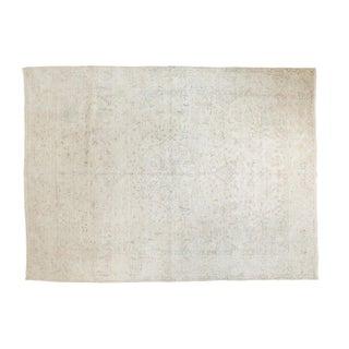 "Vintage Distressed Sivas Carpet - 6'4"" X 8'7"""