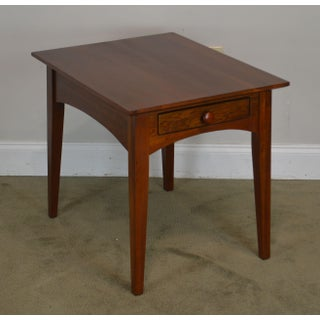 Ethan Allen American Impression Solid Cherry One Drawer Side Table Preview