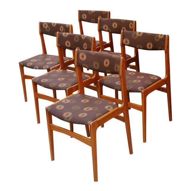 Anderstrup Mobelfabrik Danish Modern Teak Dining Chairs - Set of 6 - Image 2 of 6
