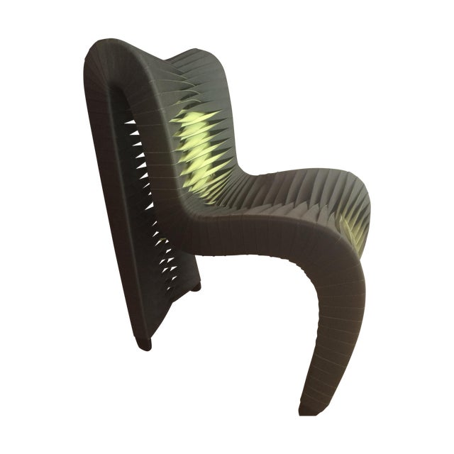 Phillips Collection Seat Belt Dining Chairs - S/6 - Image 1 of 4