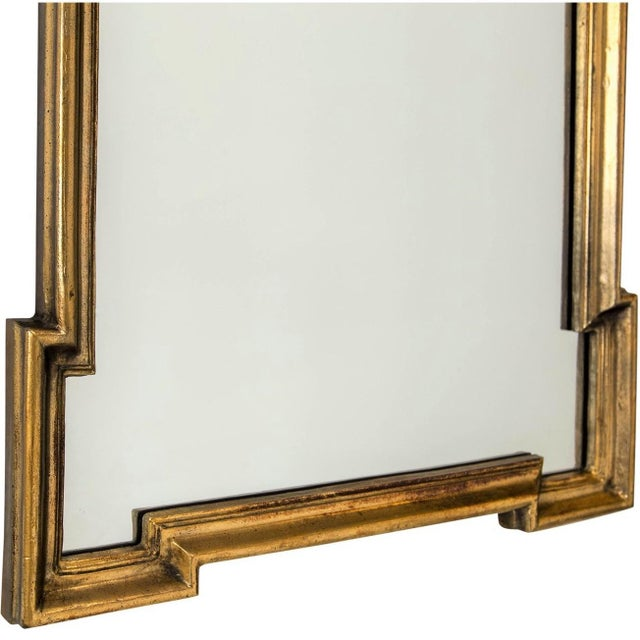 Gilded Scroll Mirror - Image 4 of 6