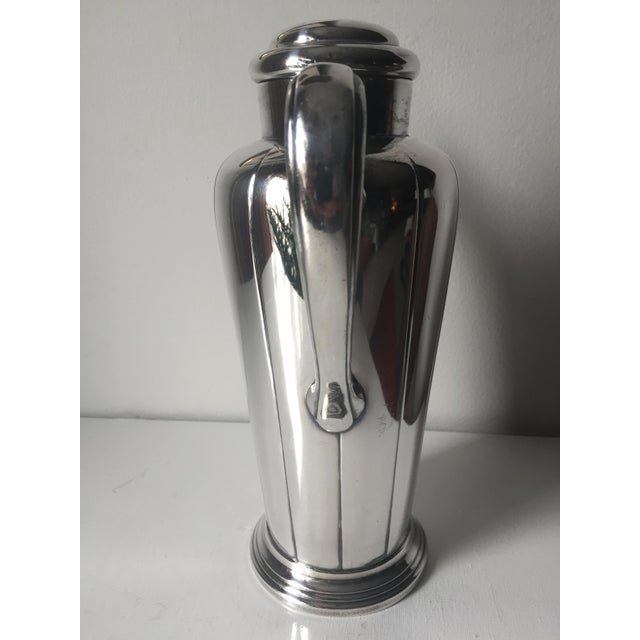 Art Deco Art Deco Silver Cocktail Shaker For Sale - Image 3 of 10