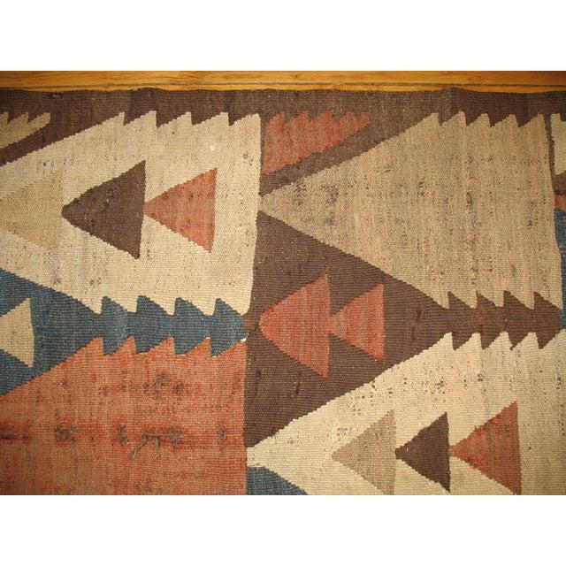 Vintage American Navajo Rug - 5′2″ × 9′5″ For Sale - Image 5 of 6