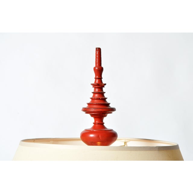 Temple Offering Urn Lamp For Sale - Image 4 of 8