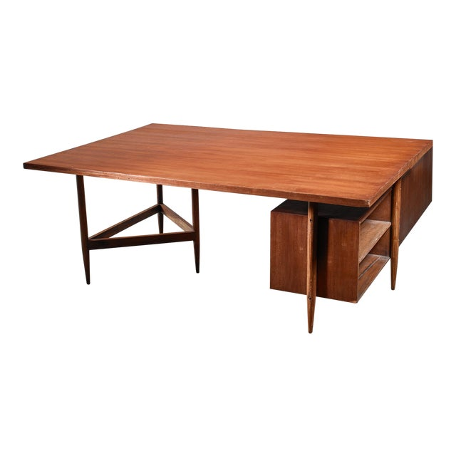 Pierre Jeanneret Chandigarh Desk, 1950s For Sale