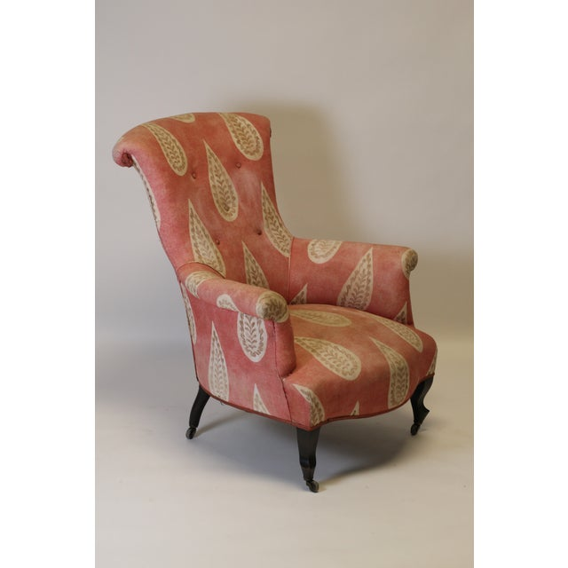 Late 19th Century 19th Century French Scroll Back Chair For Sale - Image 5 of 10
