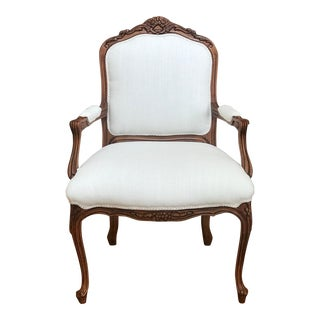 French Fauteuil Chair by Hancock and Moore For Sale