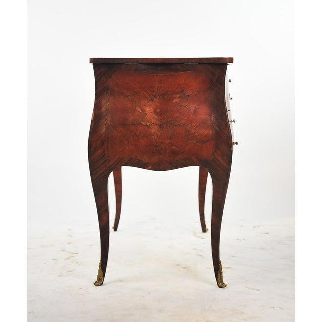 18th Century Louis XVI Marquetry Inlaid Vanity Stand For Sale In Atlanta - Image 6 of 11