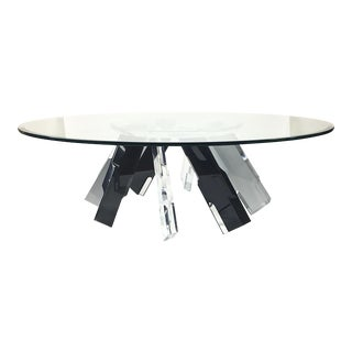 Lucite Coffee Table For Sale