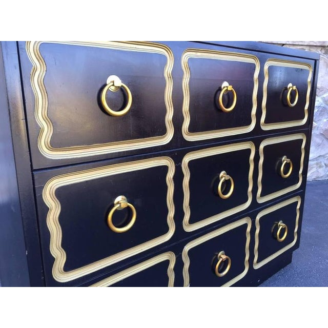Pair Dorothy Draper Style Espana Chests For Sale In New York - Image 6 of 7