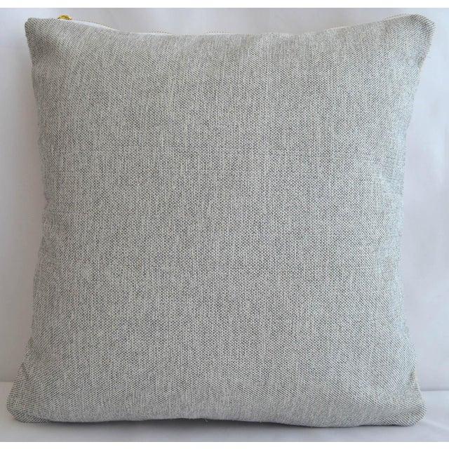 "Inca Motifs Handmade Kilim Rug Hemp Pillow Cover Throw - 16"" X 16"" For Sale - Image 4 of 6"