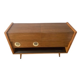 Mid Century Modern Grundig Majestic Record Console For Sale