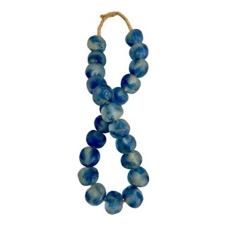 Jumbo African Trading Beads Garland For Sale